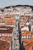 Panoramic view of Lisbon, Portugal Stock Photography