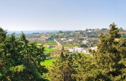 Panoramic view of Locorotondo. Puglia. Italy. Stock Images