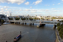 Panoramic view of London Royalty Free Stock Photos
