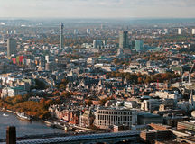 Panoramic View of London Royalty Free Stock Images