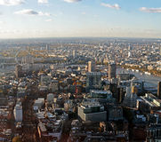 Panoramic View of London Royalty Free Stock Image