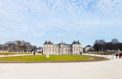 Luxembourg Palace and Gardens in Paris Royalty Free Stock Images