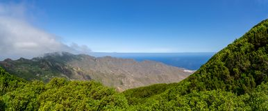 Landscapes of Tenerife. Canary Islands. Spain. stock photo