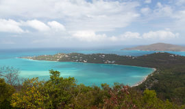 Panoramic view of Magens Bay Royalty Free Stock Photo
