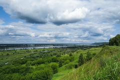 Panoramic view Royalty Free Stock Image