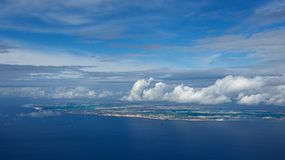 Panoramic view of Malta island Royalty Free Stock Images