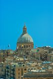 Panoramic view of the Maltese capital Stock Image