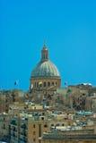 Malta - Panorama of Valletta Stock Image