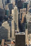 Panoramic view of Manhattan as seen from the Empire State Buildi. Manhattan, New York, USA -  May 27, 2015: Panoramic view of Midtown Manhattan as seen from the Stock Photo