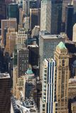 Panoramic view of Manhattan as seen from the Empire State Buildi. Manhattan, New York, USA -  May 27, 2015: Panoramic view of Midtown Manhattan as seen from the Stock Images