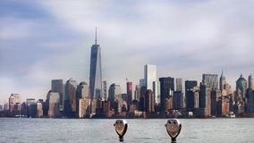Panoramic view of Manhattan. New York, USA Stock Photography