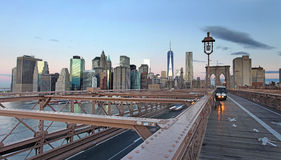 Panoramic view of Manhattan. New York, USA Royalty Free Stock Photography