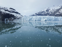 Panoramic view of the Margerie Glacier in Glacier Bay National park Royalty Free Stock Photos