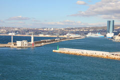 Panoramic view of Marseille, France Stock Photography