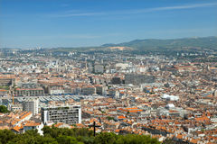 He panoramic view of Marseille Royalty Free Stock Images