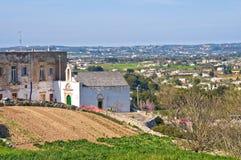 Panoramic view of Martina Franca. Puglia. Italy. Stock Photography