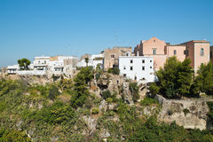 Panoramic view of Massafra. Puglia. Italy. Stock Images