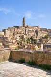 Panoramic view of Matera. Basilicata. Italy. Royalty Free Stock Photos
