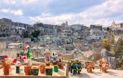 Panoramic view of Materaa Stock Photos