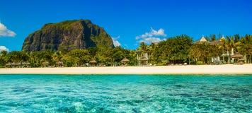 Panoramic view of Mauritius island landscape Stock Photo