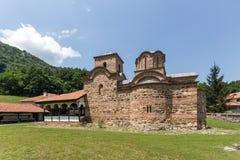 Panoramic view of medieval Poganovo Monastery of St. John the Theologian. Serbia Stock Photos