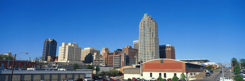 Panoramic view of Memphis Tennessee skyline Stock Photography