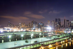 Panoramic view of Midtown Manhattan Stock Photo