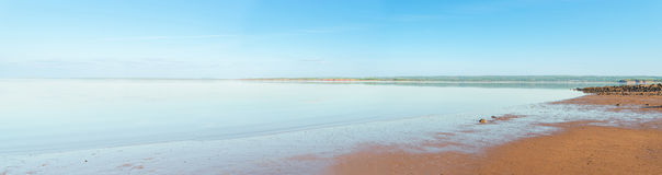 Panoramic view of Minas Basin Stock Image