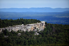Panoramic view at Minnewaska State Park. Reserve Upstate NY during summer time Stock Photography