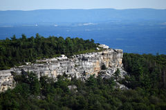 Panoramic view at Minnewaska State Park Royalty Free Stock Images