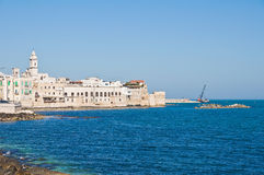 Panoramic view of Molfetta. Puglia. Italy. Royalty Free Stock Photography