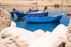 Panoramic view of Molfetta. Puglia. Italy. Stock Images