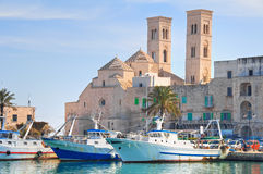 Panoramic view of Molfetta. Puglia. Italy. Stock Photo