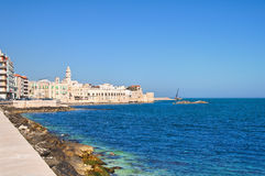 Panoramic view of Molfetta. Puglia. Italy. Stock Photos