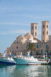 Panoramic view of Molfetta. Puglia. Italy. Stock Image
