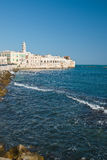 Panoramic view of Molfetta. Puglia. Italy. Royalty Free Stock Photos