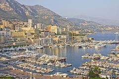 Panoramic view of Monaco Stock Image