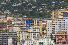 Panoramic view of Monaco Royalty Free Stock Photo
