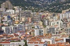 Panoramic view of Monaco Stock Photos
