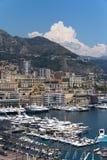 Panoramic view of Monaco  Royalty Free Stock Image