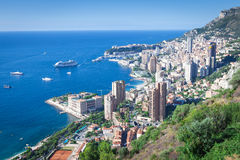 Panoramic view of Monaco Stock Images