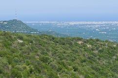 Panoramic view of Monopoli. Puglia. Italy. Royalty Free Stock Image