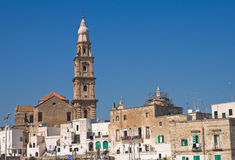 Panoramic view of Monopoli. Puglia. Italy. Stock Photography