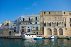 Panoramic view of Monopoli. Puglia. Italy. Stock Photography