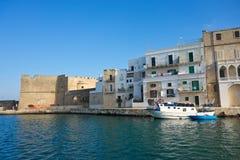 Panoramic view of Monopoli. Puglia. Italy. Royalty Free Stock Photos