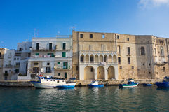 Panoramic view of Monopoli. Puglia. Italy. Royalty Free Stock Photography