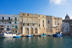 Panoramic view of Monopoli. Puglia. Italy. Stock Images