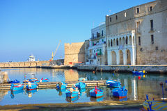 Panoramic view of Monopoli. Puglia. Italy. Stock Photos