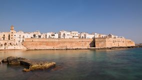 Panoramic view of Monopoli. Puglia. Italy. Time-lapse. stock footage
