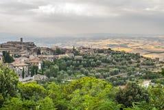 Montalcino (Tuscany) Royalty Free Stock Photography